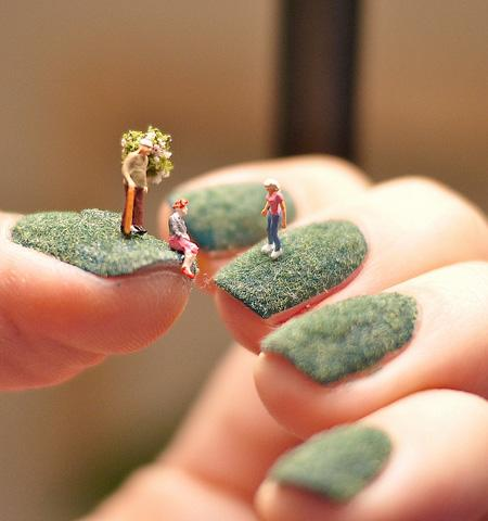 Tiny World Nail Art