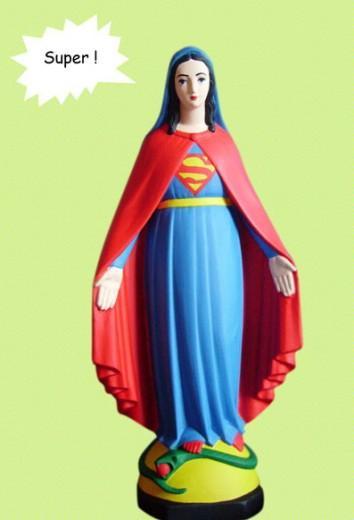 Foto Quando la vergine Maria è pop, la provocazione di Soasig - 1 di 10 - Repubblica.it