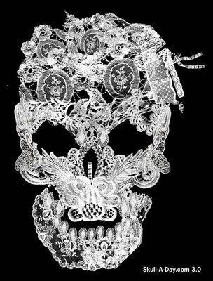 lace+skull.jpg (304×400)