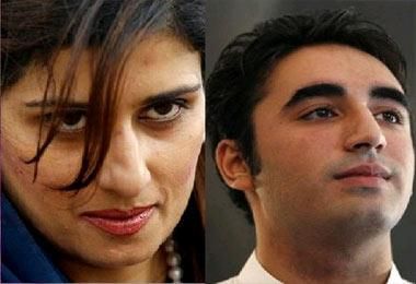Pakistan abuzz with Bilawal Bhutto, Hina Rabbani's affair
