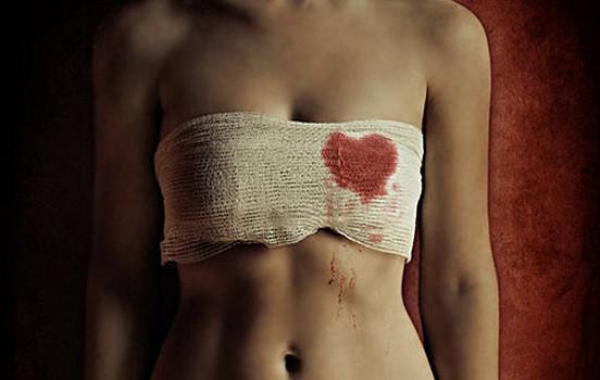 Blood / Bleeding heart.