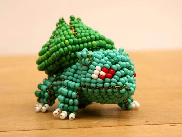 MAKE | Beaded Pokémon Sculptures