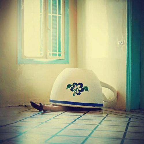 Tea-cup land on the Behance Network