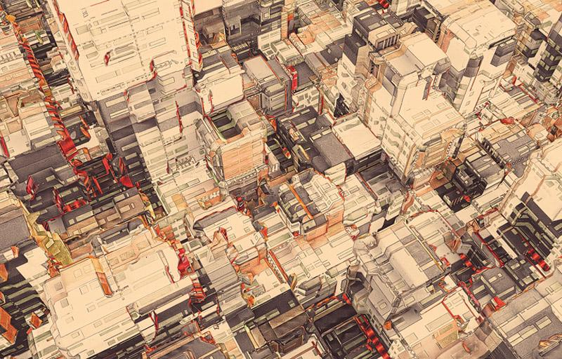 Looks like good Cities Illustration Series by olschinsky