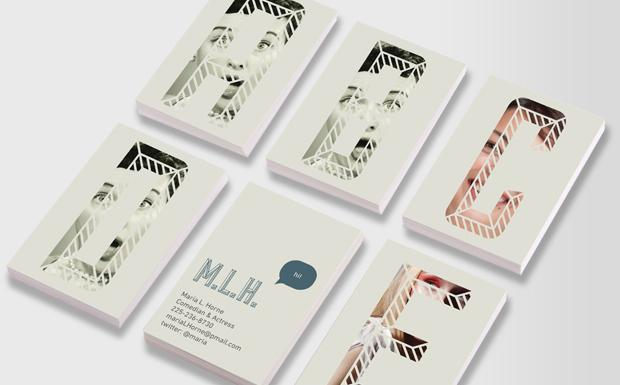 Alphabet Street Business Cards | moo.com USA