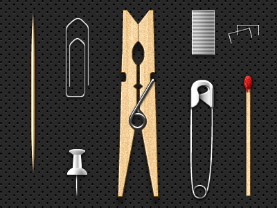 Everyday Objects (.psd) by Adrien Olczak