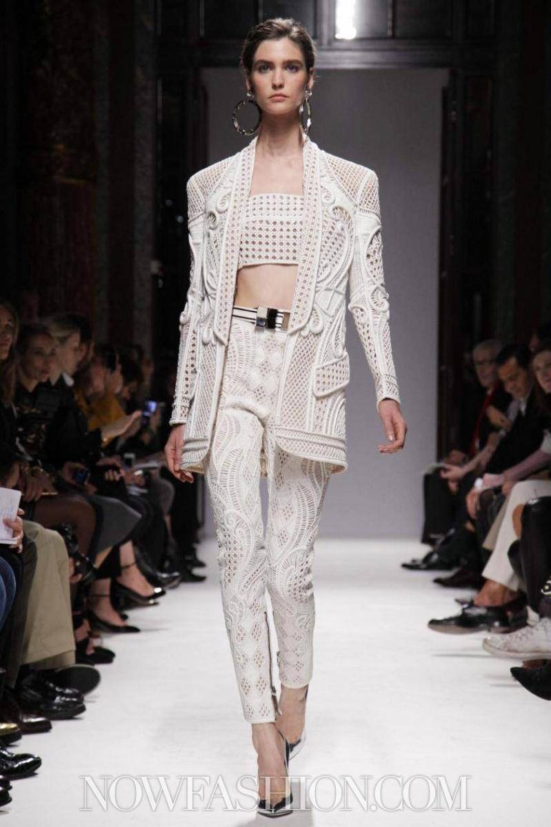 Balmain Ready To Wear Spring Summer 2013 Paris