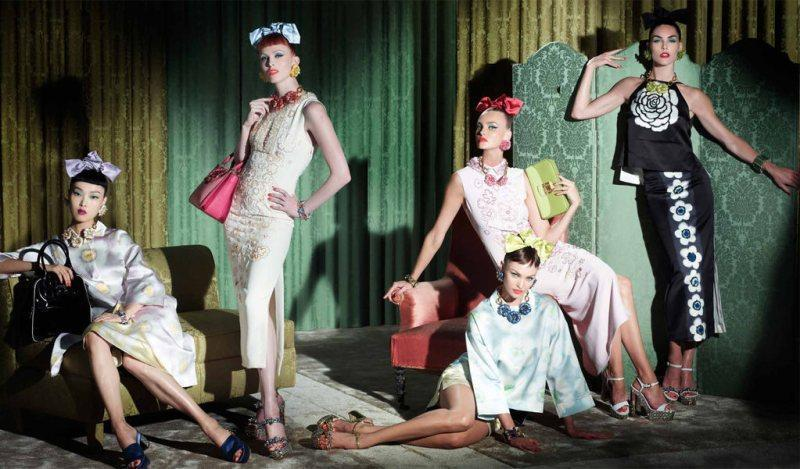 The Women with Style by Steven Meisel