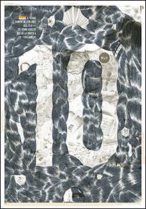 "affiche anniversaire 10 ans ""Cloudy"" - Posters - collections - B.ü.L.b comix"