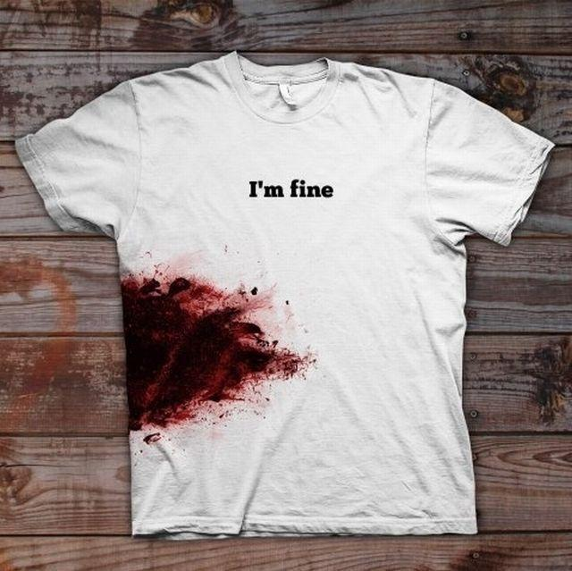 I'm Fine T-Shirt | Fancy Crave