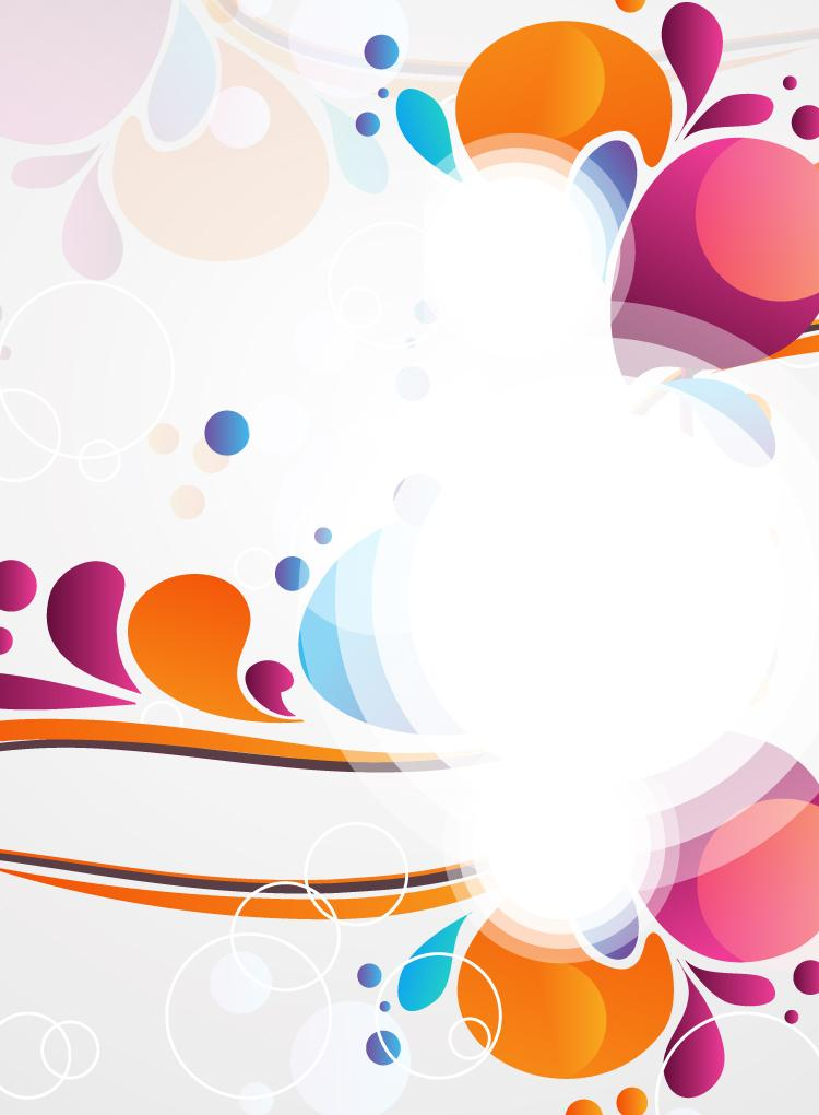 Free Colorful Vector Background » Design You Trust – Design Blog ...