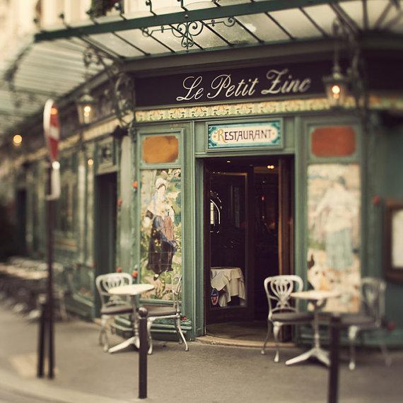 Le Petit Zinc Paris Photograph St Germain by EyePoetryPhotography