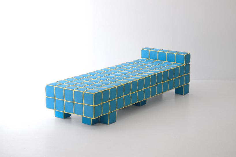 grid sofa by kim hyunjoo