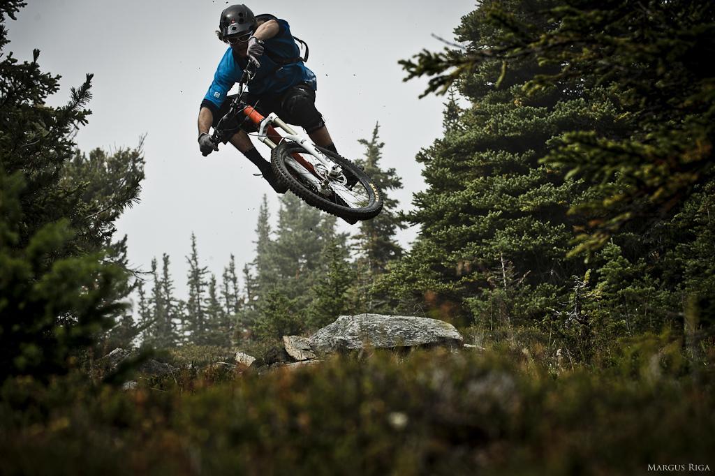 Garett Buehler at Valemount BC in Vancouver, British Columbia, Canada - photo by Margus - Pinkbike