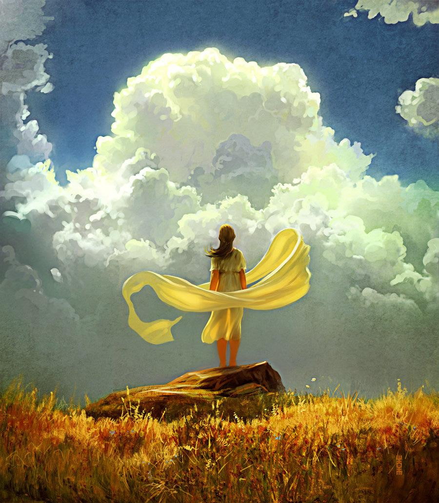 Exquisite Illustrations by Rhads | Abduzeedo | Graphic Design Inspiration and Photoshop Tutorials