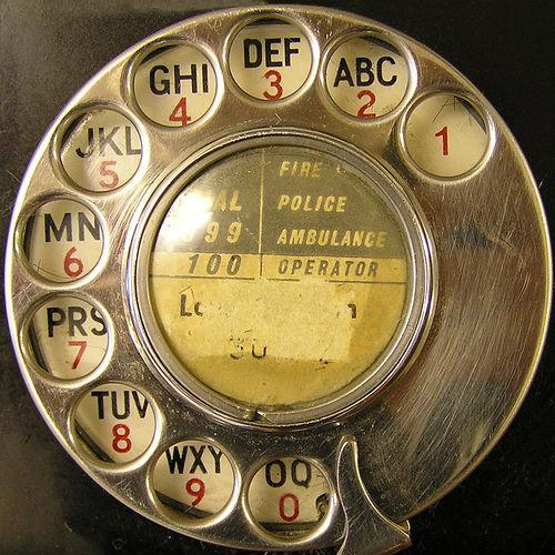 Telephone dial by Leo Reynolds | a generous designer's tumblr