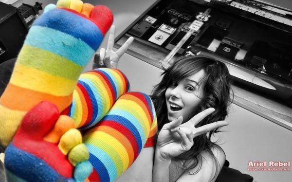 women,brunettes brunettes women stockings socks ariel rebel selective coloring 1441x900 wallpaper – Dark Wallpapers – Free Desktop Wallpapers