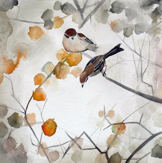 15 Off Sale Autumn Art Nature Print Fall 5x5 by MaiAutumn