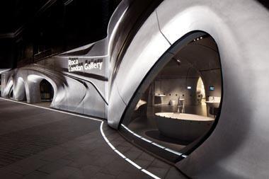 Zaha Hadid Architects - Rocca London Gallery, London, UK