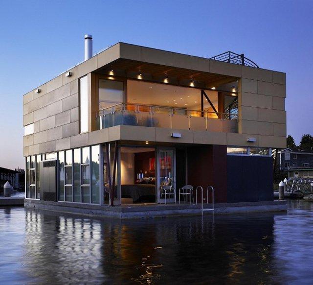 Fancy - Floating Home @ Lake Union, Seattle