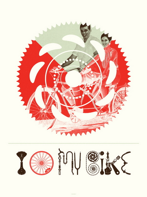 grain edit · 2011 Poster Cabaret Bike Print Set Giveaway