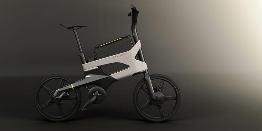 eDL122 : le concept ebike urbain compact à découvrir au Mondial - Actualités Peugeot - Peugeot Motion & Emotion