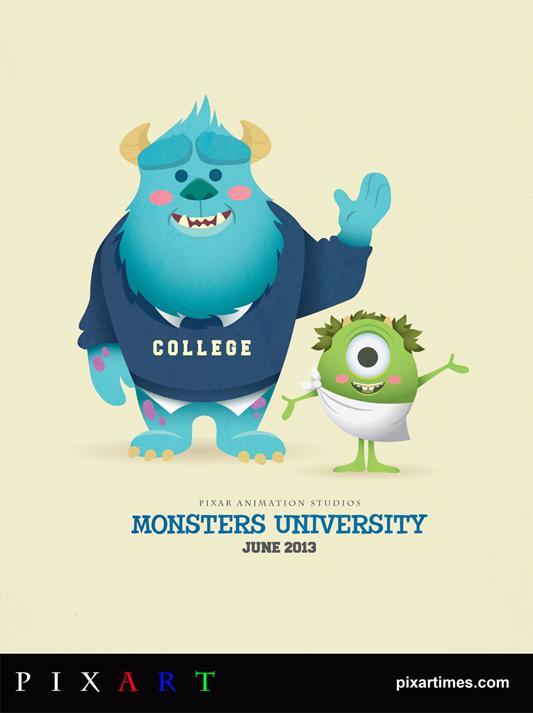 PixArt-Monsters-University-by-Jerrod-Maruyama.jpg (533×713)