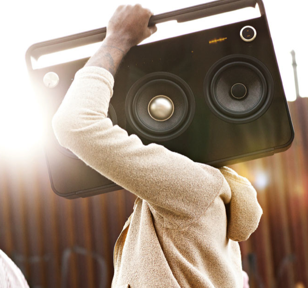 TDK 3 Speaker Boombox Audio System | Fancy Crave