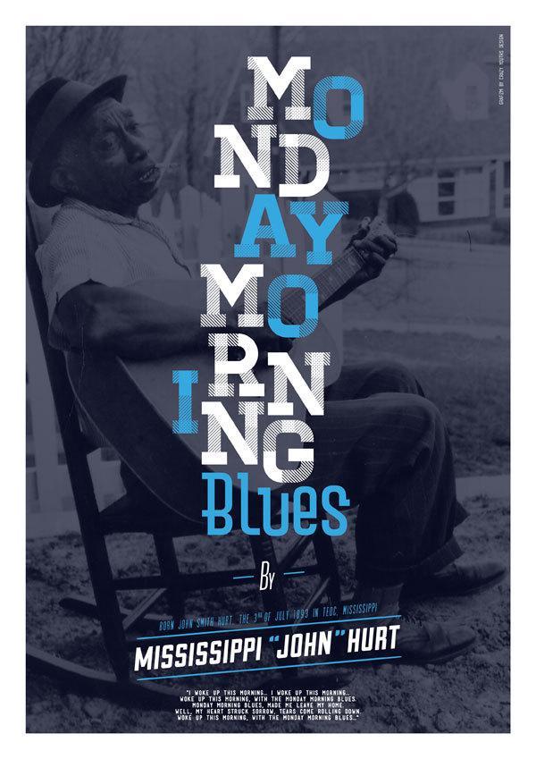 Imprimer - Monday Morning Blues sur le réseau