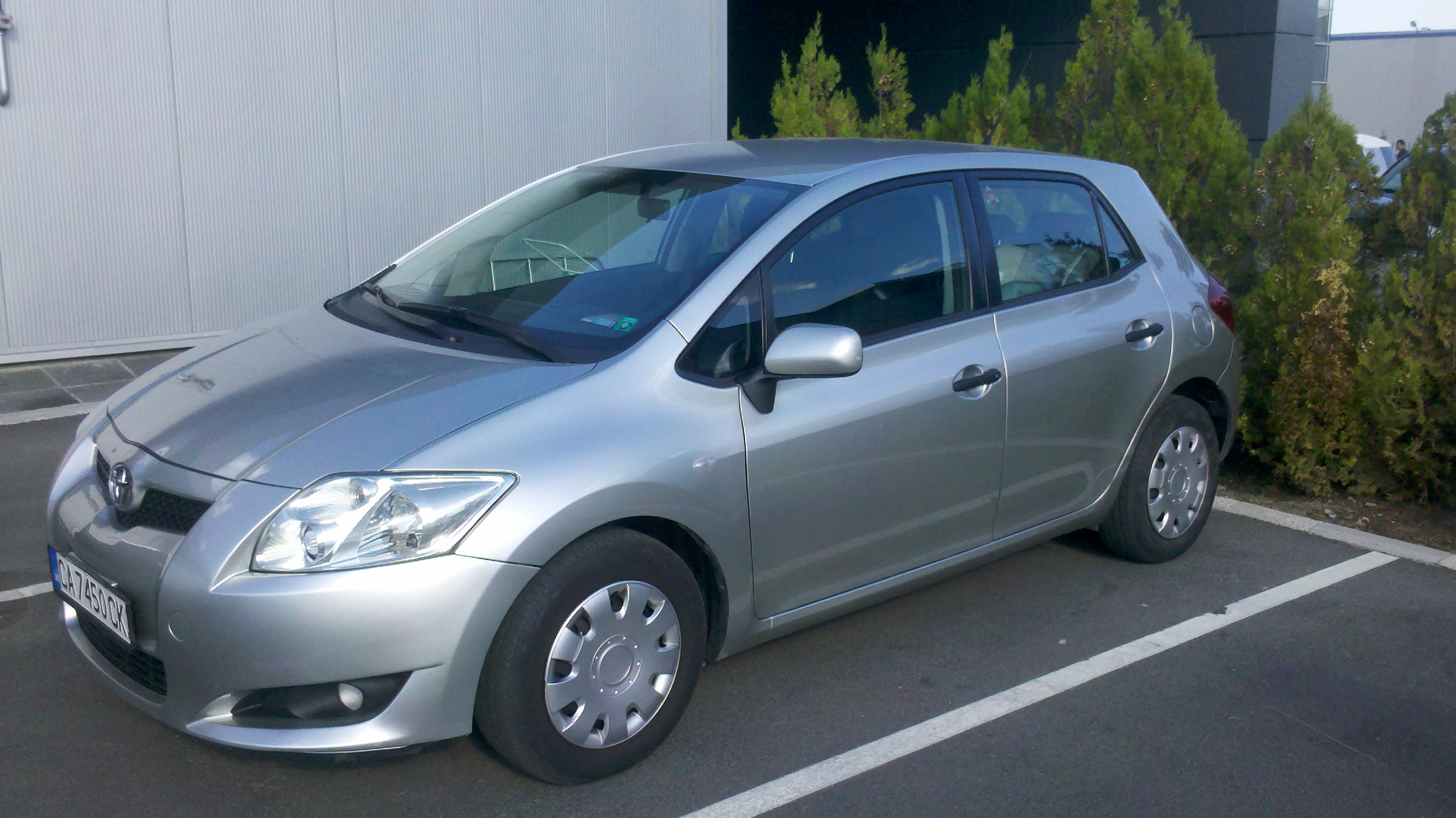 Vlado's New Toyota