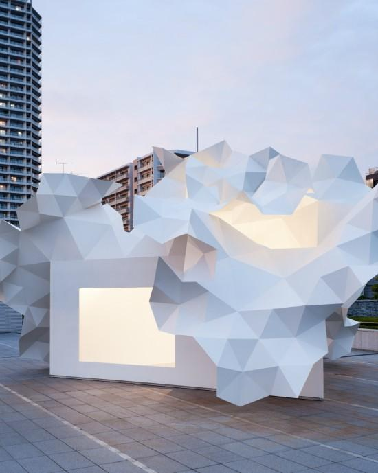Bloomberg Pavilion Project by Akihisa Hirata - I Like Architecture