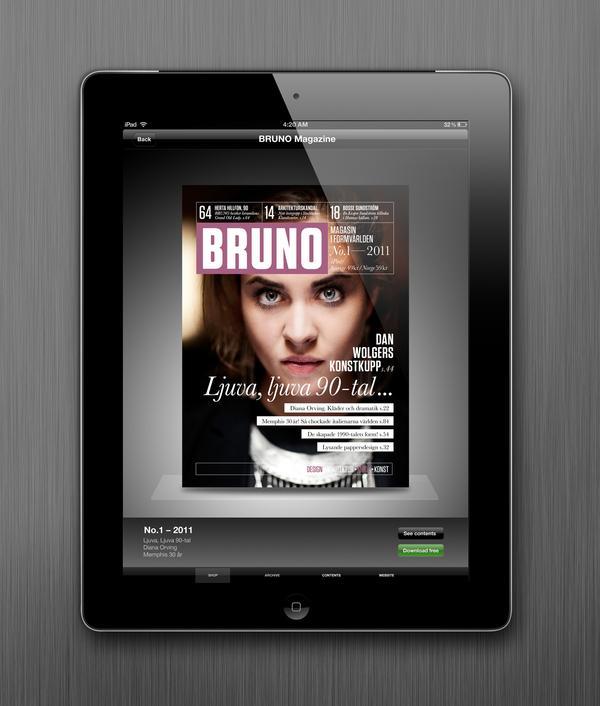 Magazine BRUNO sur le réseau