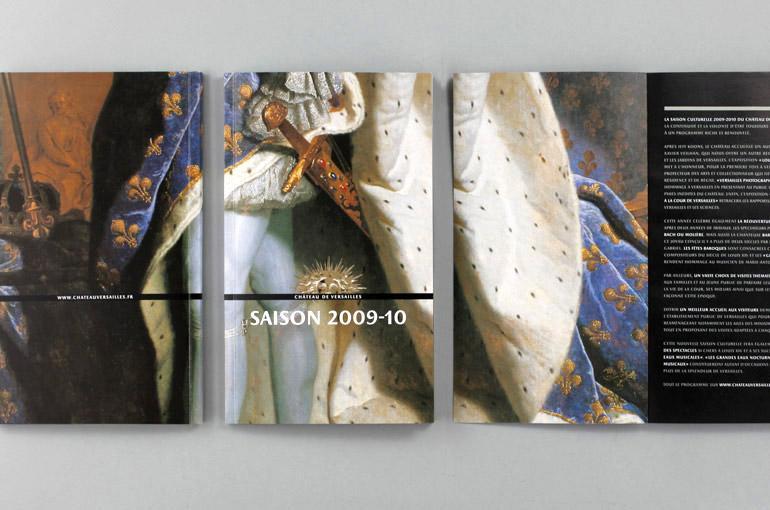DES SIGNES – Muchir et Desclouds - Studio de graphisme à Paris – CHÂTEAU ET DOMAINE NATIONAL DE VERSAILLES