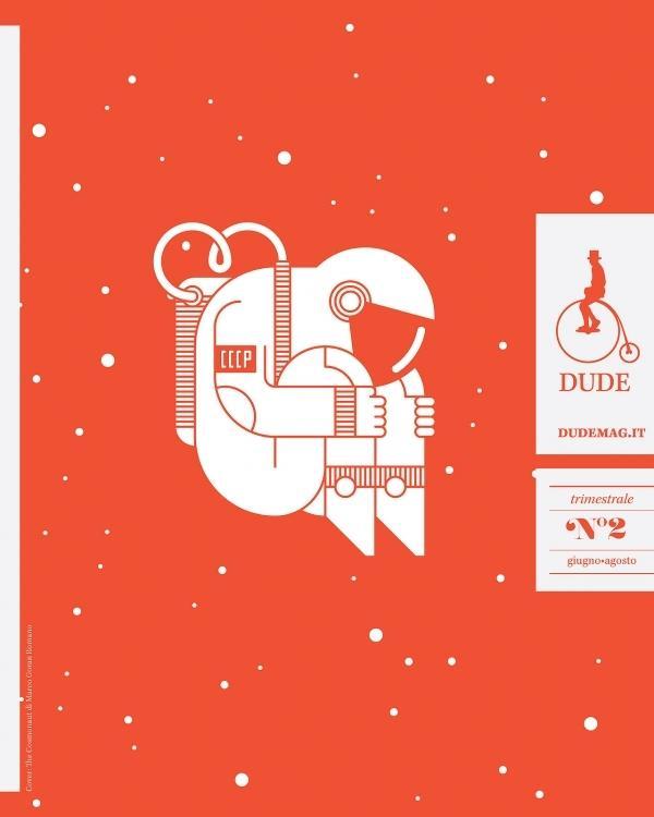 "uuo (Illustration: ""The Cosmonaut"", Marco Goran Romano.) — Designspiration"