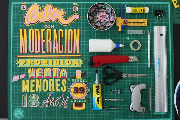 Awesome HandmadeTypography by Pablo Alfieri   inspirationfeed.com