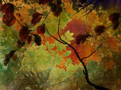 COLLAGE LOVE - Autumn Stretched Canvas by Ally Coxon   Society6