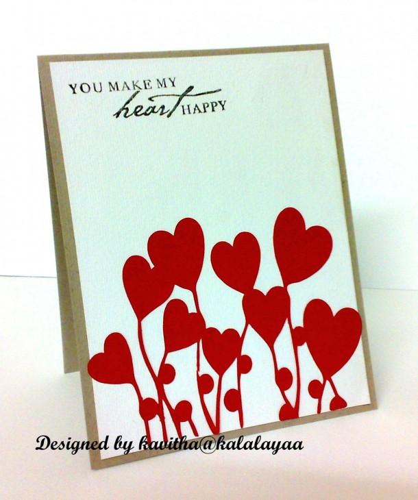 Heart card - Craftsia - Indian Handmade Products & Gifts