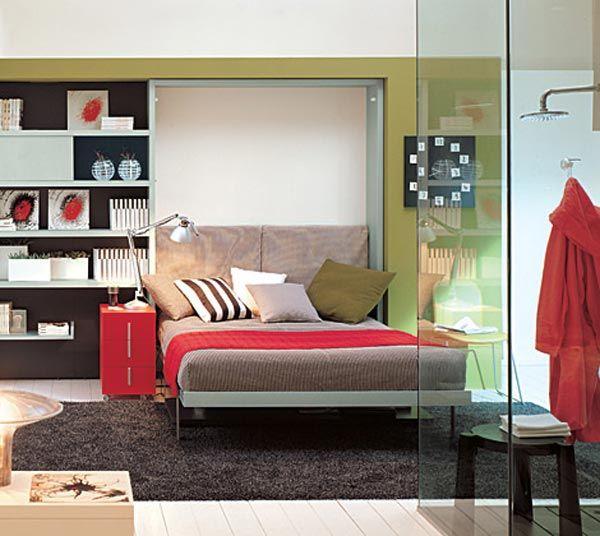 Ulisse Bed & Desk Space Saving System   Freshome
