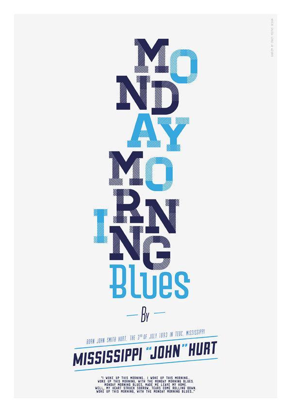 Print - Monday Morning Blues