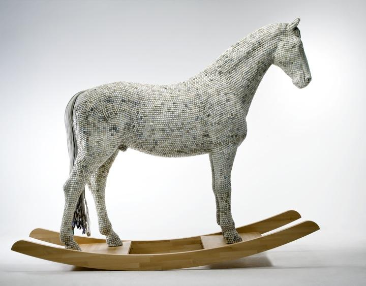 The Keyboard Horse by Babis