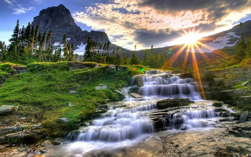 landscapes,nature landscapes nature fields waterfalls 1680x1050 wallpaper – landscapes,nature landscapes nature fields waterfalls 1680x1050 wallpaper – Waterfall Wallpaper – Desktop Wallpaper