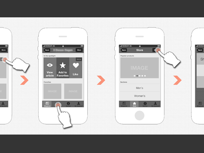 Wireframing all day long pt.II by Johan Geijer