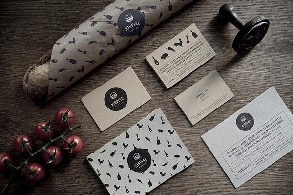 Brand Design for Bistro Kispiac by Eszter Laki