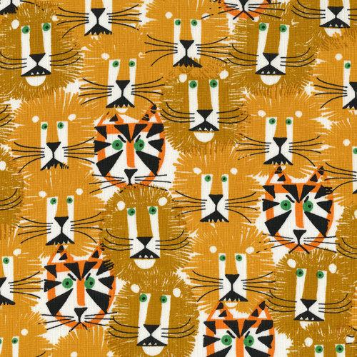 Lions and Tigers from Happy Drawing Cloud9 by sewfreshfabrics