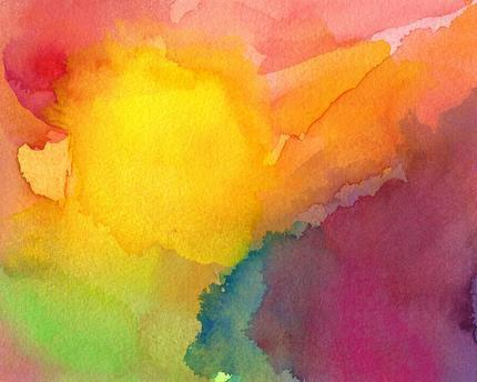 Heart and Soul Print of Original Watercolor by soveryhappyart