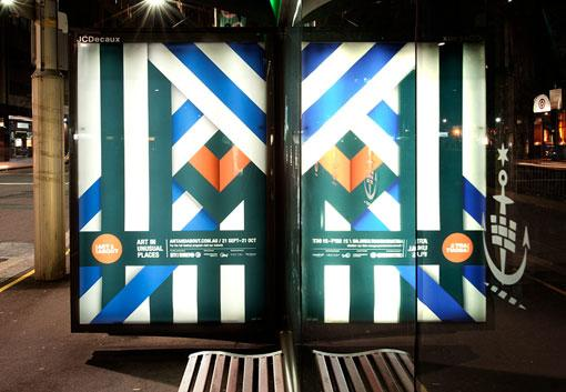 Design Work Life » Toko: Art & About Festival Installation
