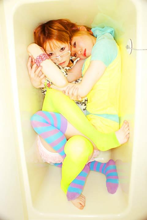 Tokyo Club Kids Photographed in their Bathtubs — Lost At E Minor: For creative people