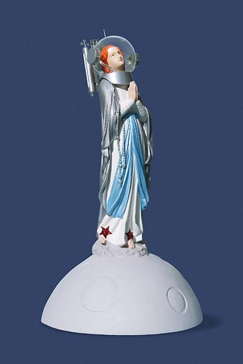 Artist Soasig Chamaillard restores damaged Virgin Marys — Lost At E Minor: For creative people