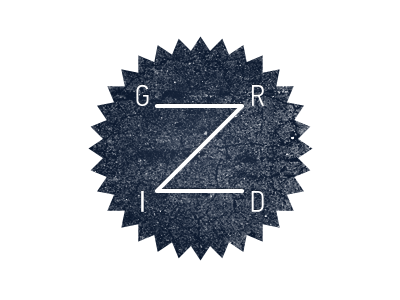 GRIDZ. New logo for myself by Anton Gridz