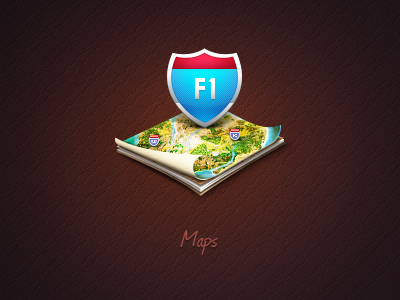 Map Icon by Egor Kosten
